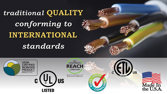 Traditional quality conformin to international standards